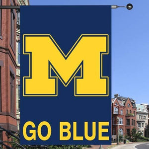 "Michigan Wolverines 28""x40"" Collegiate Banner Flag"