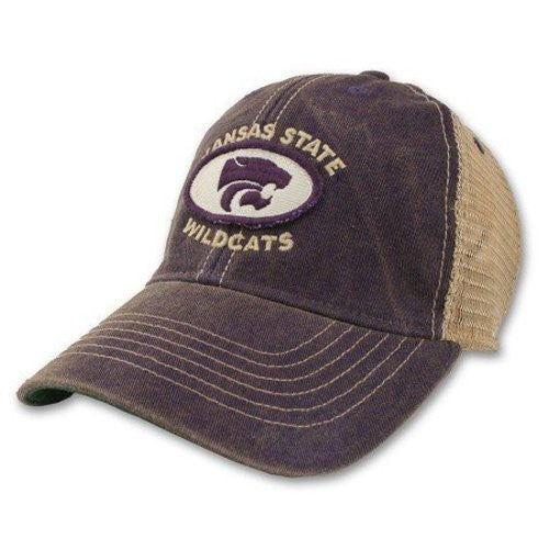 Kansas State Wildcats Hat Adjustable Trucker Style
