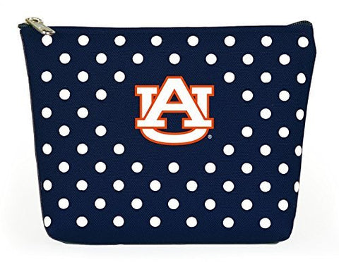 Picture of Auburn Tigers Polka Dot Pouch