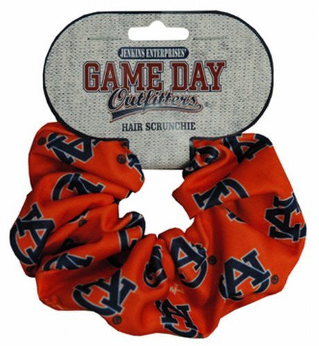 Auburn Tigers Hair Scrunch with Team Logo