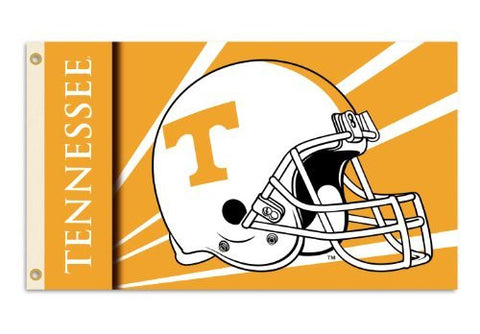 Picture of Tennessee Volunteers 3-by-5 Foot Flag with Grommets - Helmet Design