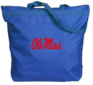 Ole Miss Rebels - NCAA Zippered Tote