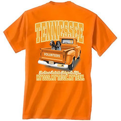 Tennessee Volunteers Loyalty Truck Dogs T-shirt Tennessee Orange