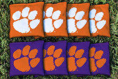 Clemson Tigers NCAA Replacement All Weather Cornhole Bag Set