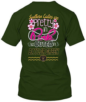 Baylor Bears Pretty in Pink T-shirt