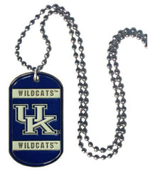 Kentucky Wildcats 36-Inch Ball Chain Necklace with Licensed Tag