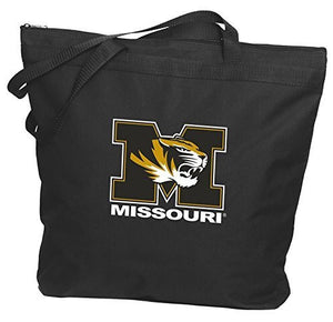 Missouri Tigers Zipper Tote Bag