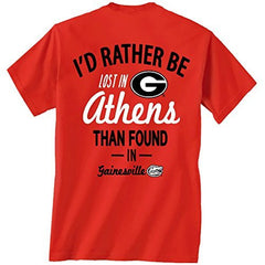 Georgia Bulldogs Lost in Athens Tshirt