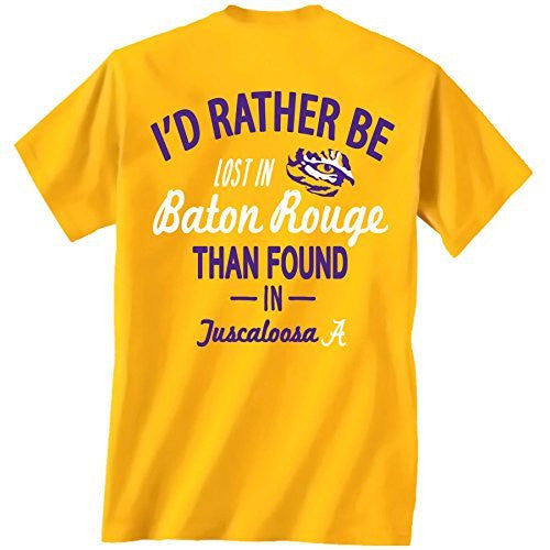 LSU Tigers Lost in Baton Rouge Tshirt