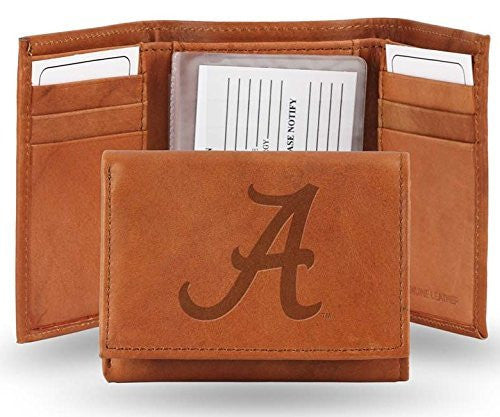 Alabama Crimson Tide Official NCAA Leather Trifold Wallet
