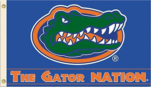 Florida Gators Team Logo 3 Ft. X 5 Ft. Flag With Grommets