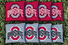 Ohio State Buckeyes Replacement Cornhole Bag Set (all weather)