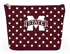 Mississippi State Bulldogs Polka Dot Pouch