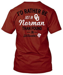 Oklahoma Sooners Lost in Norman T-shirt