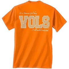 Tennessee Volunteers Girl Thing Tshirt