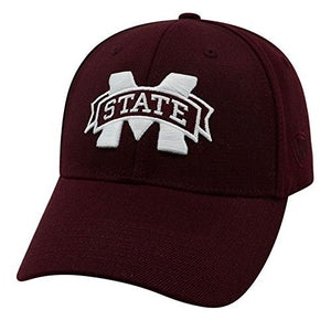 Mississippi State Bulldogs One Fit/Memory Fit Top of the World Hat