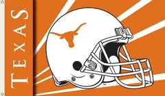 Texas Longhorns 3-by-5 Foot Flag with Grommets - Helmet Design