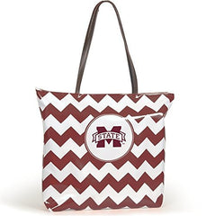 Mississippi State Bulldogs - NCAA Chevron Shopper Tote