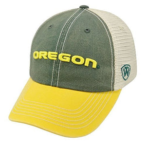 Oregon Ducks Hat Adjustable Trucker Style