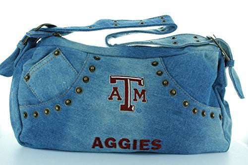 Texas A&M Aggies Denim Purse