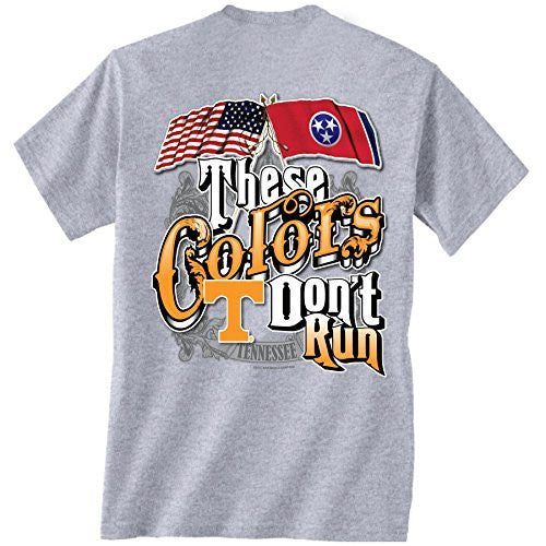 Tennessee Volunteers These Colors Don't Run Tshirt