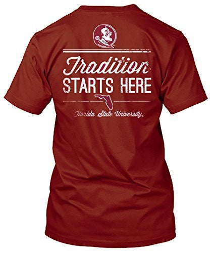 Florida State Seminoles Tradition Starts Here Tshirt