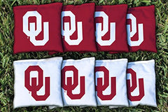 Oklahoma Sooners Replacement Cornhole Bag Set (all weather)