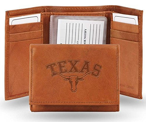 Texas Longhorns Official NCAA Leather Trifold Wallet