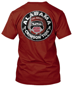 Alabama Crimson Tide Mechanic emblem Tshirt