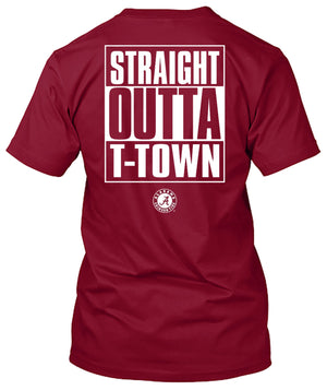 Alabama Crimson Tide Outta T-town Tshirt