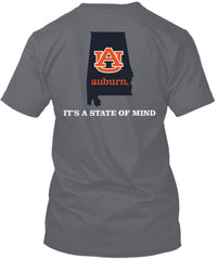 Auburn Tigers Comfort Colors State of Mind Tshirt