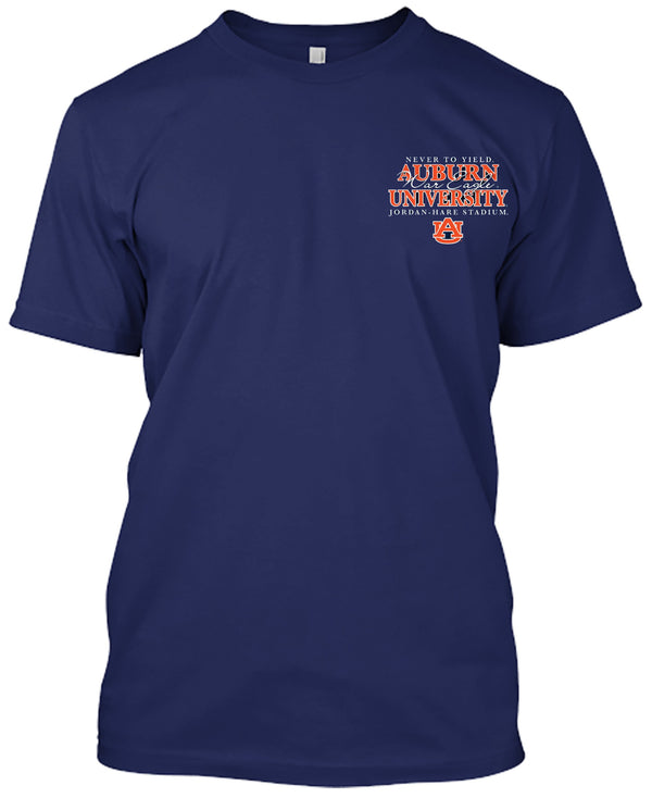Auburn Tigers Then and Now T-shirt