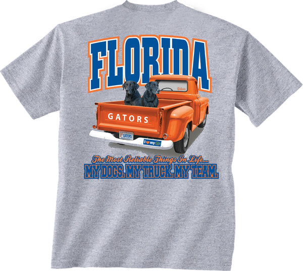 Florida Gators Truck Dogs Loyalty T-shirt