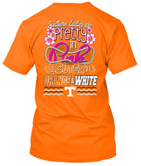 Tennessee Volunteers Pretty in Pink T-shirt