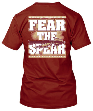 Florida State Seminoles Fear the Spear Tshirt