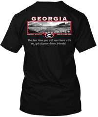 Georgia Bulldogs Friends Stadium Tshirt
