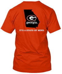 Georgia Bulldogs State of Mind Home Tshirt