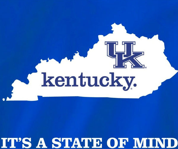 Kentucky Wildcats Blue State of Mind Home Tshirt