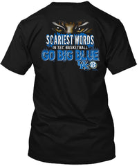 Kentucky Wildcats Scariest Basketball Tshirt