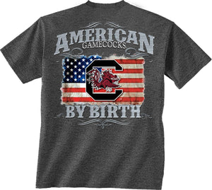 South Carolina Gamecocks Gamecock by Birth American T-shirt