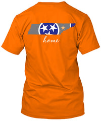 Tennessee Volunteers Home State Flag Tshirt