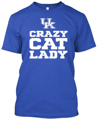 Kentucky Wildcats Crazy Cat Lady Tshirt