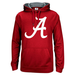 Alabama Crimson Tide Crimson Men's Polyester Blend Hoodie Sweatshirt