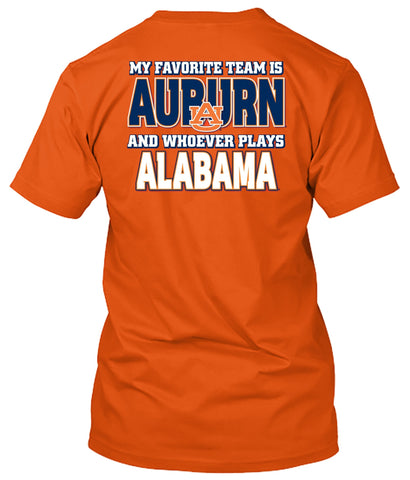 Picture of Auburn Tigers My Favorite Team Tshirt