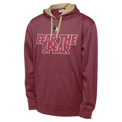 Florida State Seminoles Fear the Spear Men's Polyester Blend Hoodie Sweatshirt