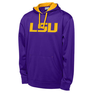 LSU Tigers Purple Men's Hoodie Sweatshirt