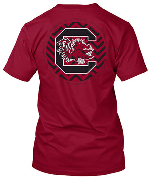 South Carolina Gamecocks Chevron Tshirt