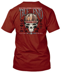 Alabama Crimson Tide To the End Tshirt