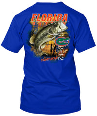 Florida Gators Bass Fishing Tshirt