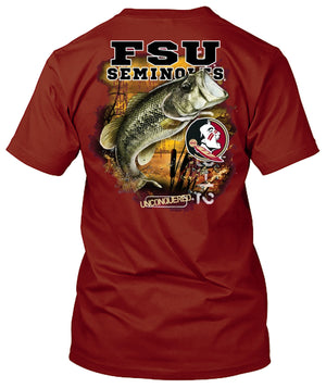 Florida State Seminoles Bass Fishing Tshirt